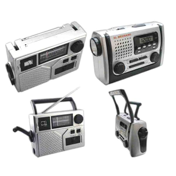 Emergency Radio Lantern Clocks